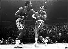 Un combate de boxeo mítico: Joe Frazier contra Alí
