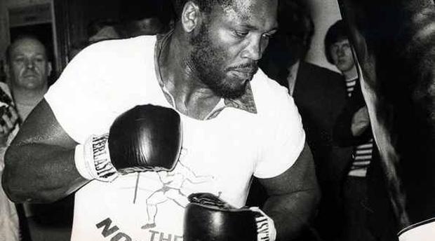 El mítico campeón de boxeo profesional, Joe Frazier