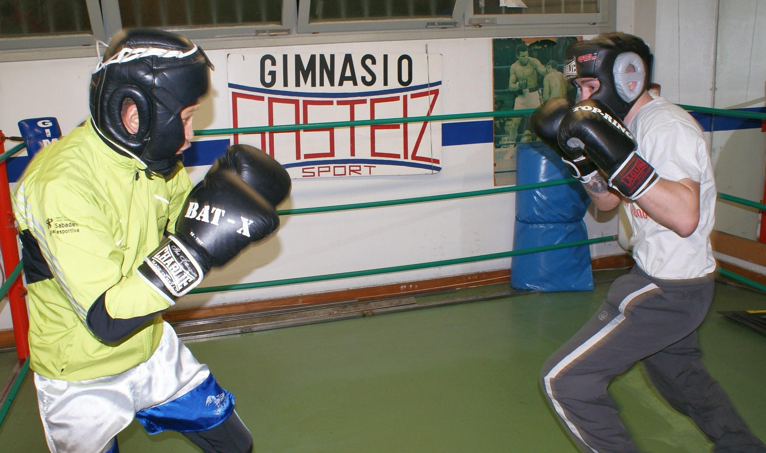 Reynaldo Cajina y Andoni Alonso Entrenamiento