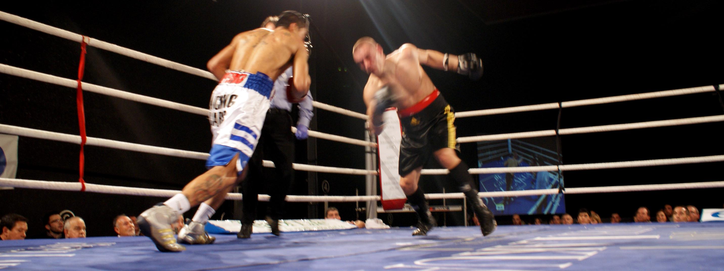 Boxeo Bilbao Cajina Shivanov