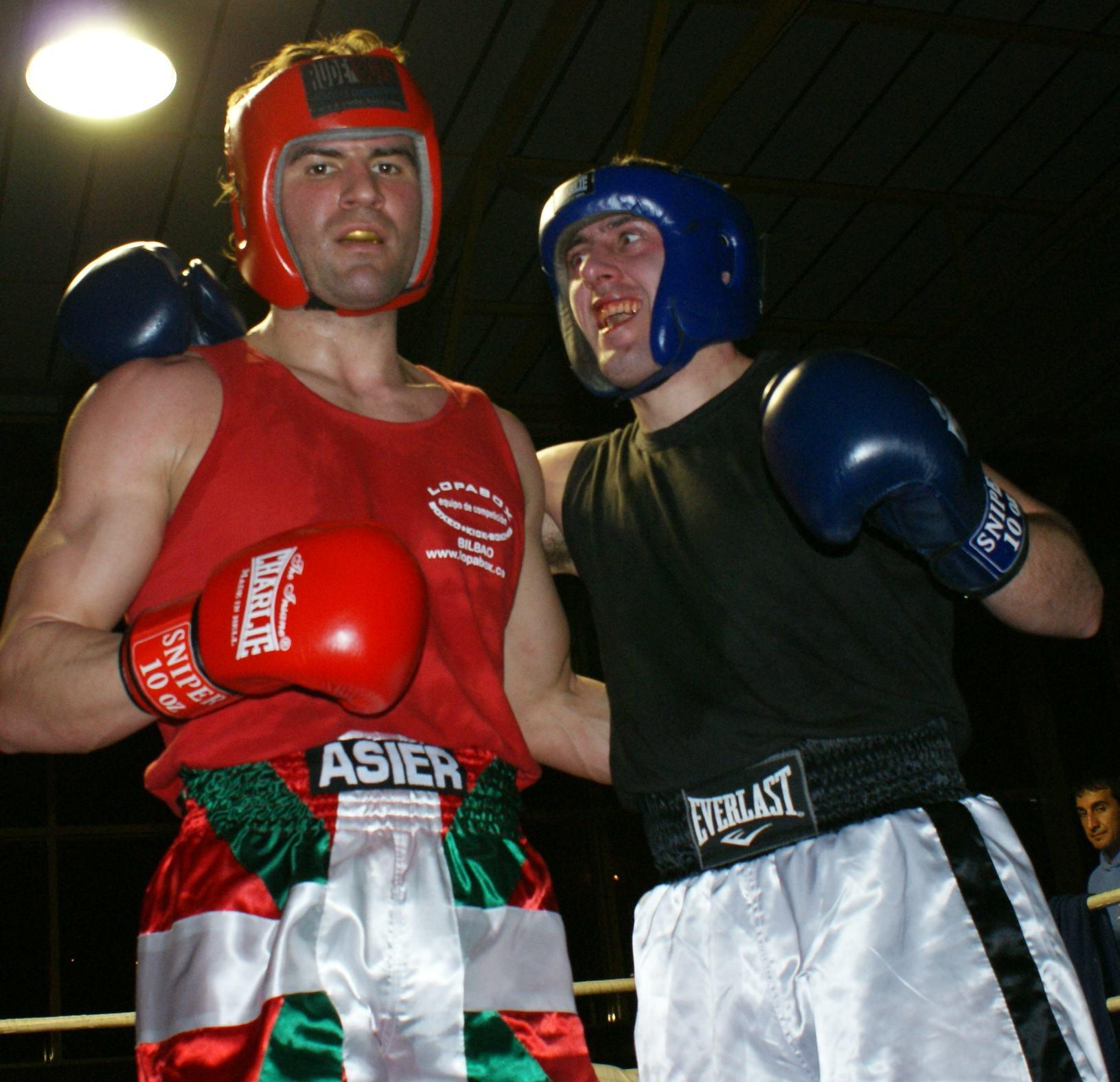 Boxeo,Bizkaia: Asier Zulaika y Asier Arza