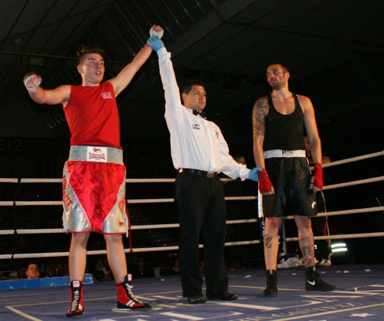 Boxeo amateur en Vitoria-Gasteiz