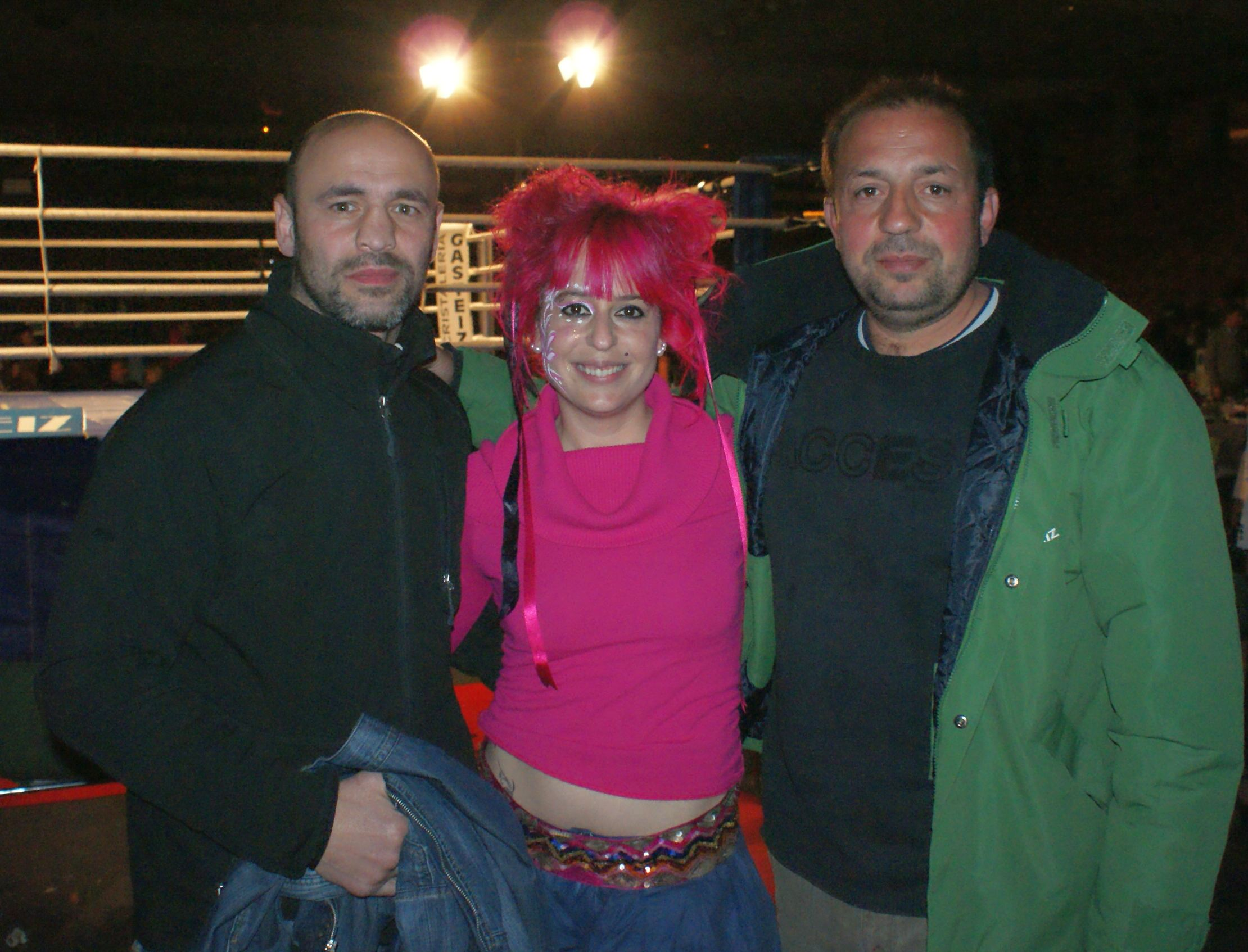 José Molinillo y Gabarry, boxeo en Vitoria Gasteiz