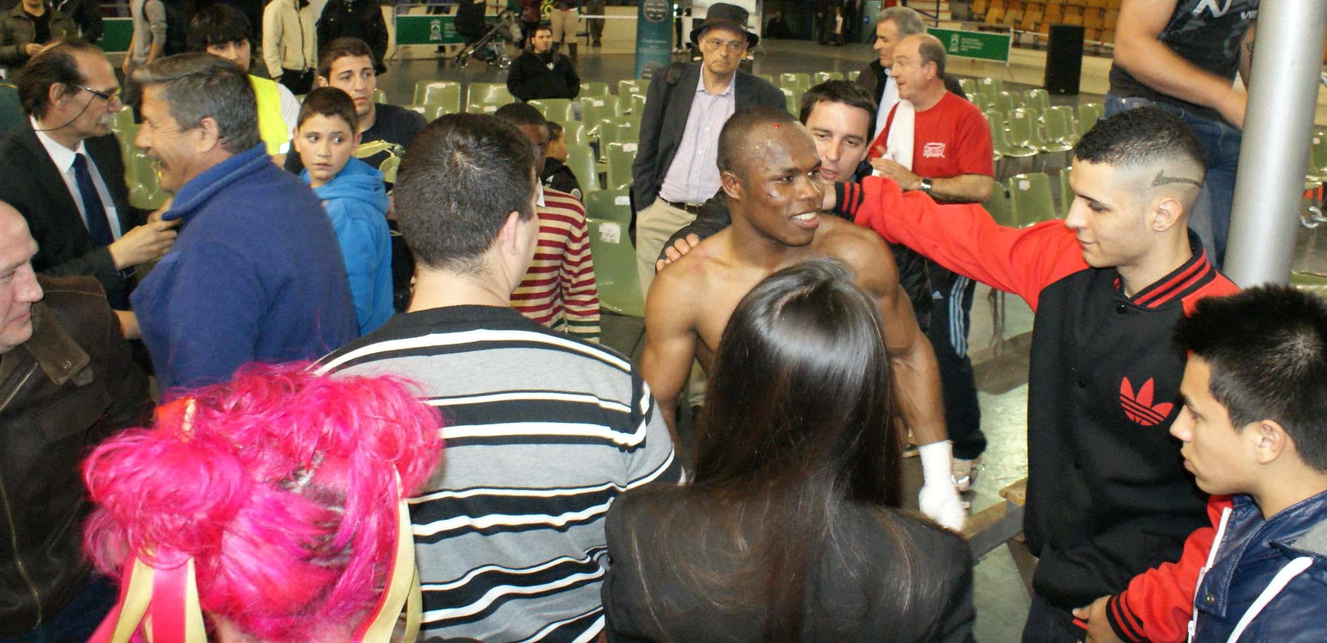 Nacho Mendoza, boxeo en Vitoria-Gasteiz