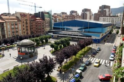 Pabellón de La Casilla, en Bilbao