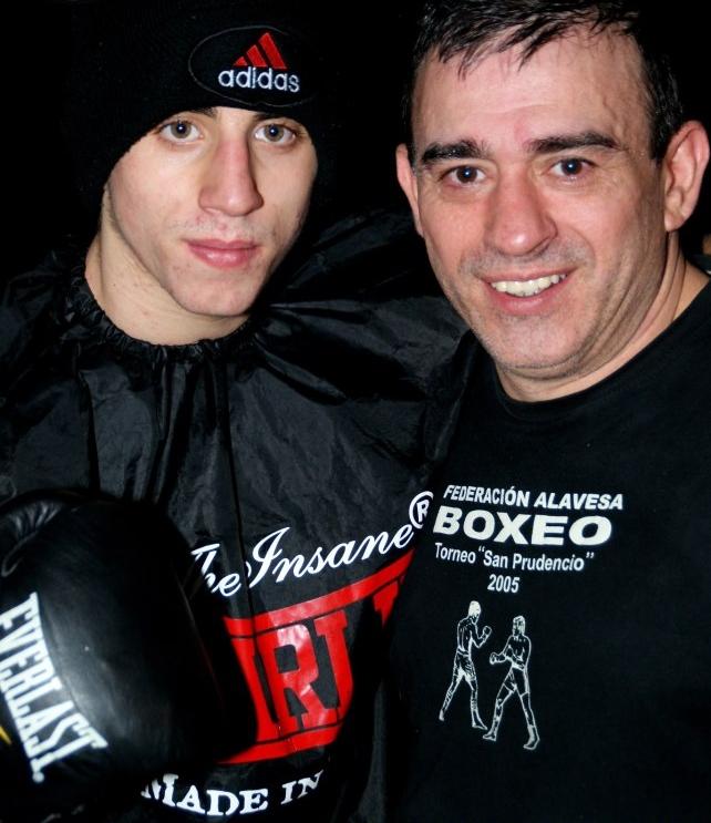 Sebas Perez, pade e hijo, boxeador y preparador