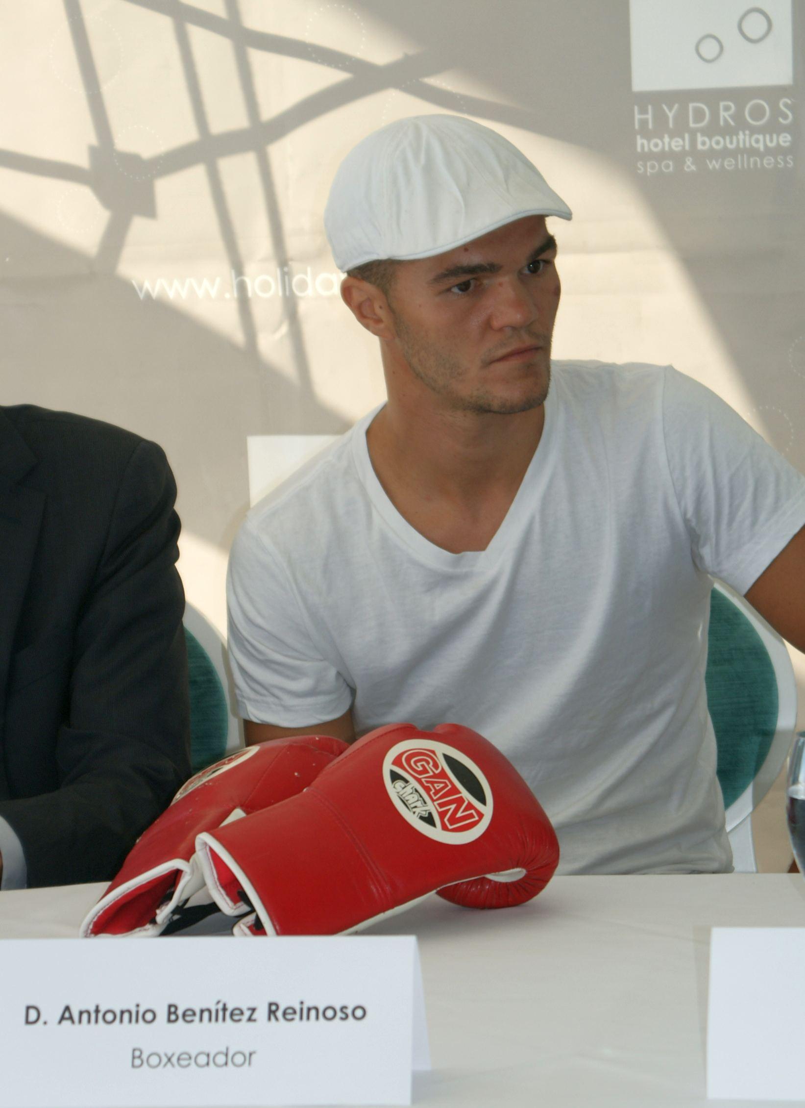 El boxeador profesional marbellí, Antonio Benítez