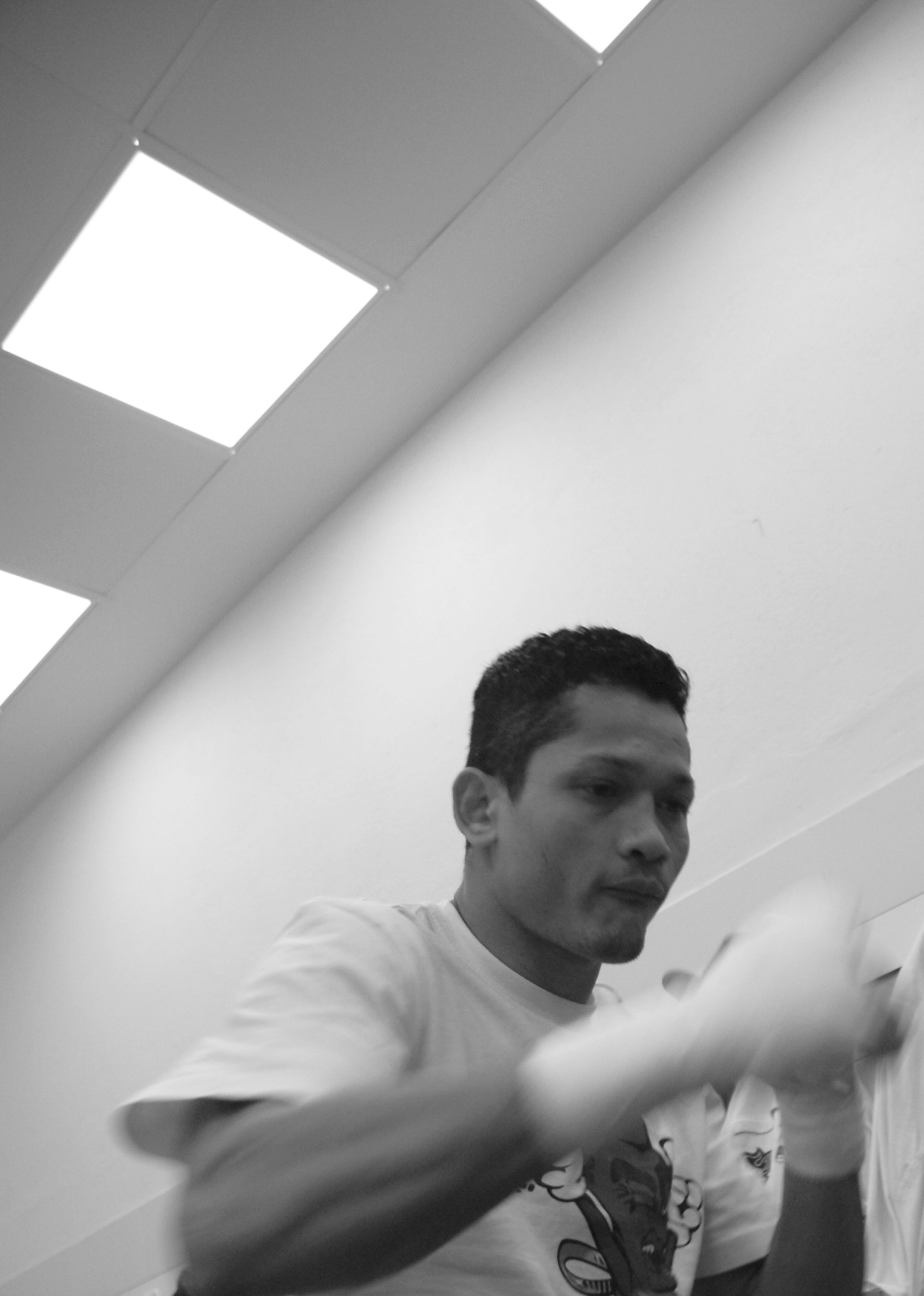 Reynaldo Cajina, boxeador nicaragüense supergallo afincado en Vitoria