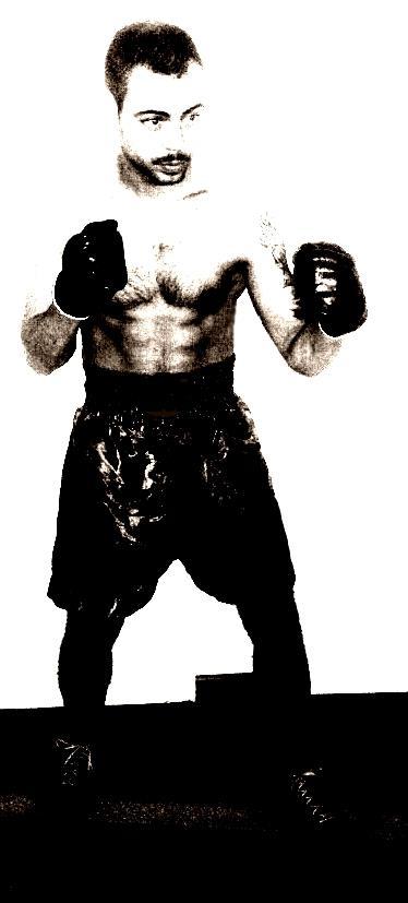 Ramón Cid, boxeador y preparador en el Club Escuela Anoeta
