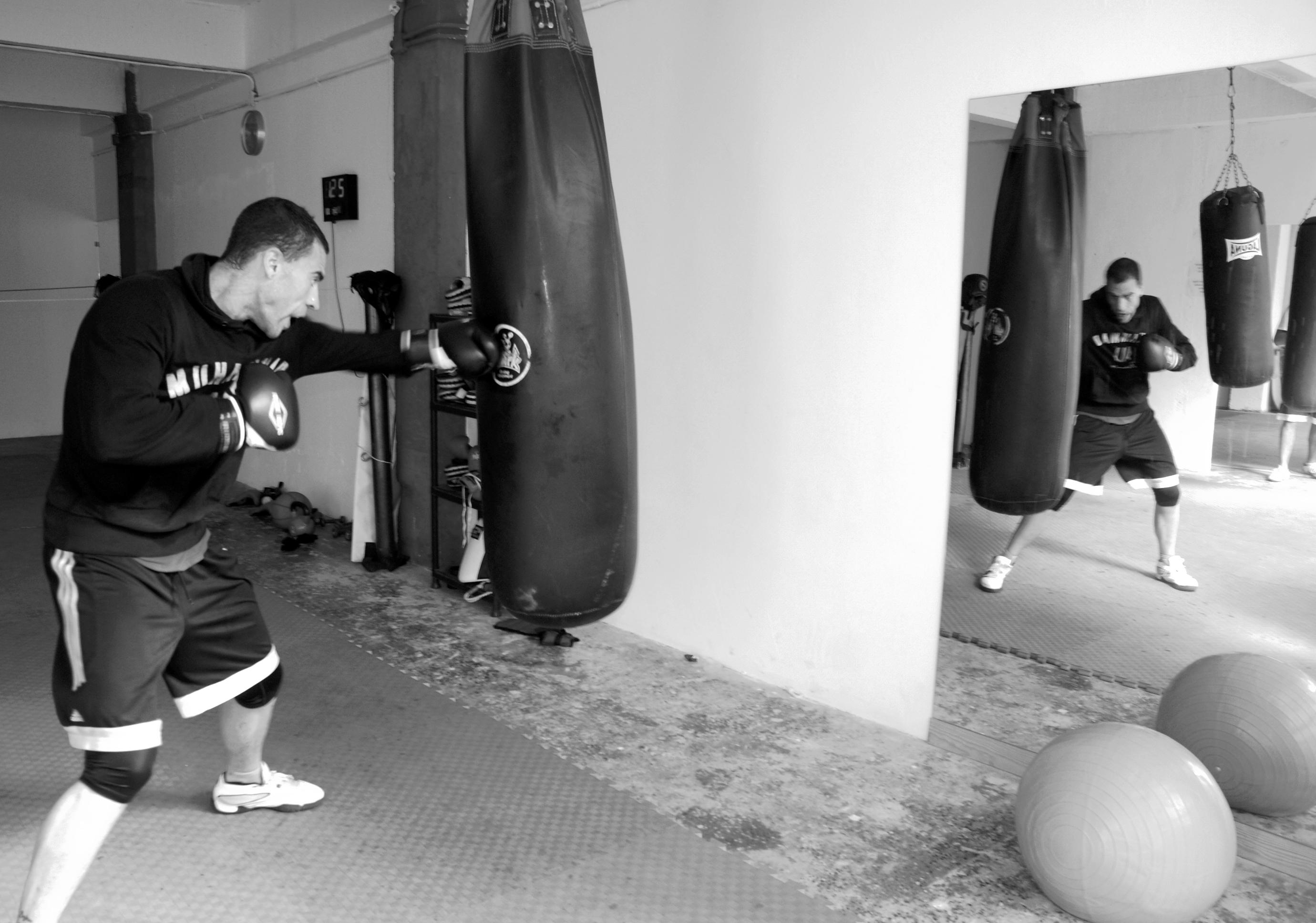 David Larrinaga, boxeo, peso pesado, Bizkaia