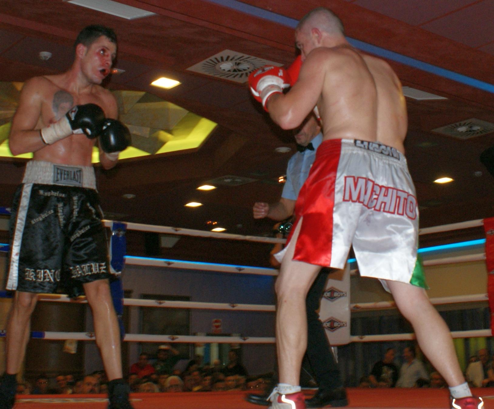 Boxeo profesional: Andoni Gago contra King Daluz