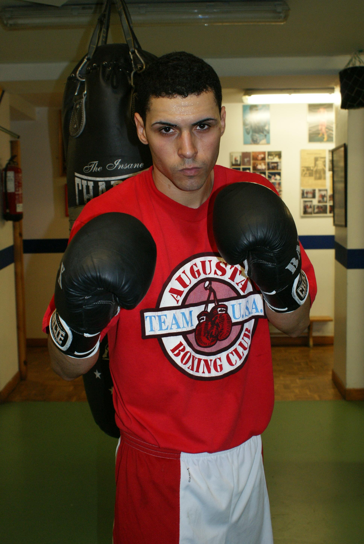 Ivan Daniel, boxeador amateur (Gasteiz Sport).