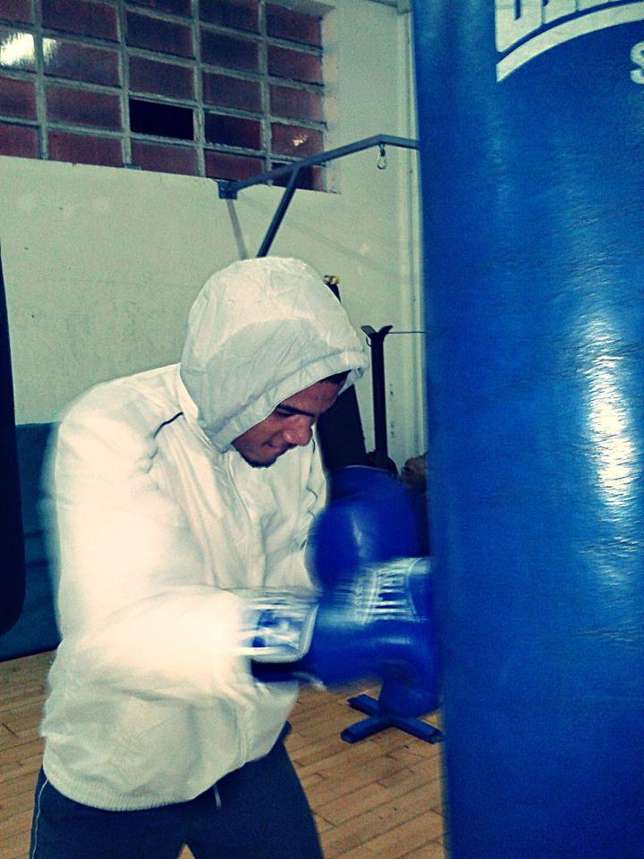 Boxeo: Nelson Dotel, de la Escuela Anoeta, campeón de Gipuzkoa del peso welter.
