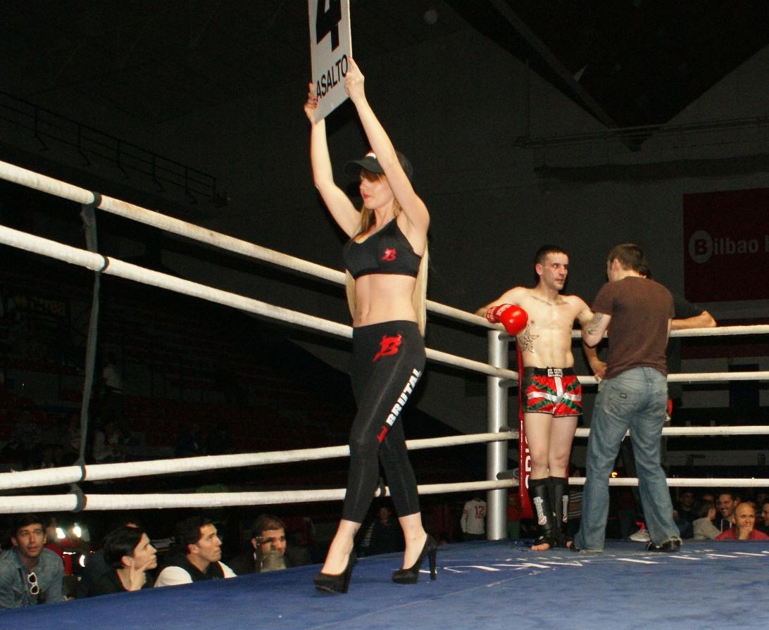 Combate de K1 en Bilbao