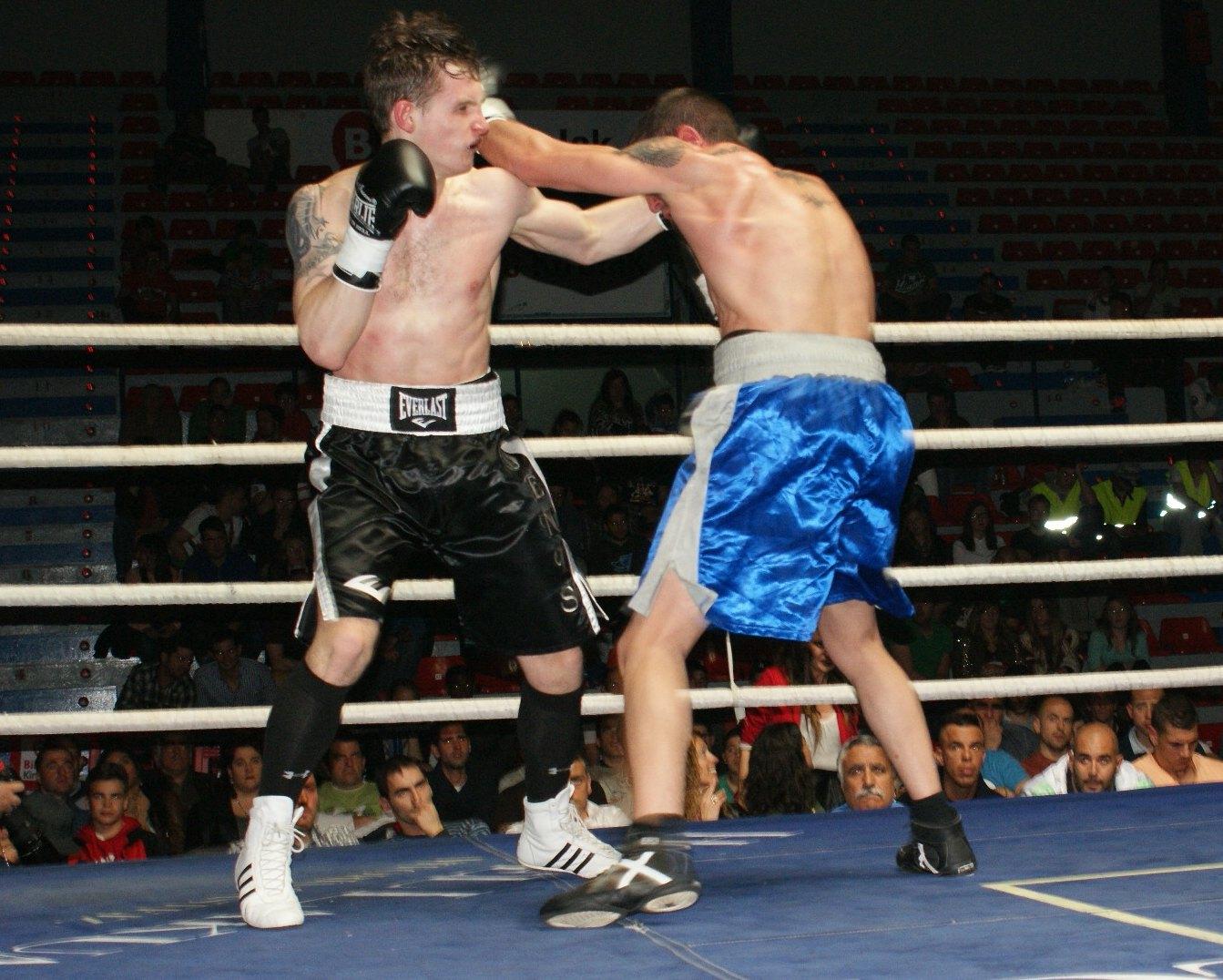 Denis Sukhanov y Sergio Abad, boxeo profesional en Bilbao