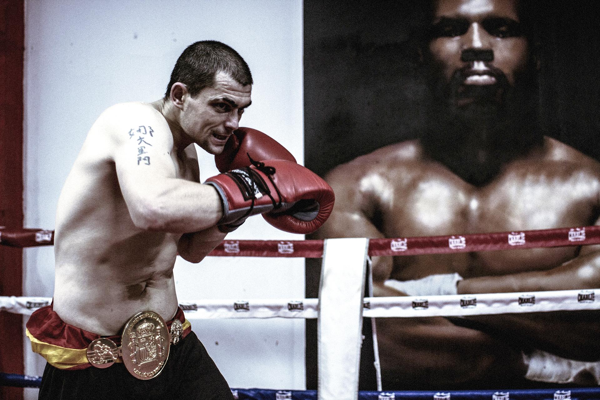 Andoni Gago esperará otra oportunidad para boxear en Estados Unidos.