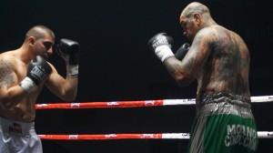 Boxeo profesional: Patón Basile no tuvo rival en Lakatos.