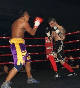 Boxeo profesional: Javier Díaz y Edwin Téllez, batalla de principio a fin con victoria para el bilbaino.