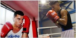 Ibon larrinaga y Kevin Baldospinio, dos grandes boxeadores que ofrecerán un interesantisimo combate.