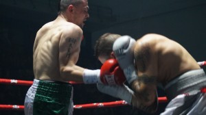Boxeo profesional: Un momento del combate entre Gago y Vidal en La Casilla.