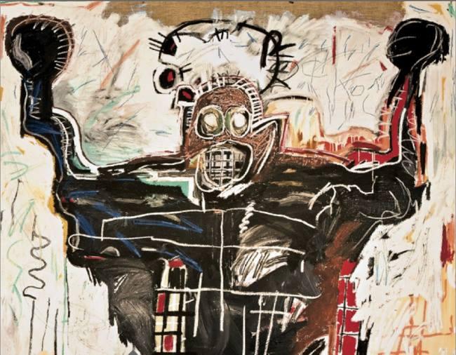 Obra de Basquiat inspirada en el boxeo 5