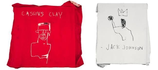 Obra de Basquiat inspirada en el boxeo 6