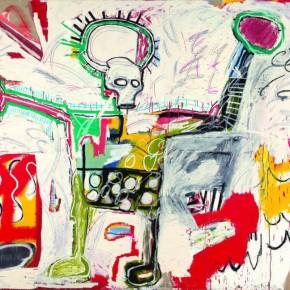 Obra de Basquiat inspirada en el boxeo 7