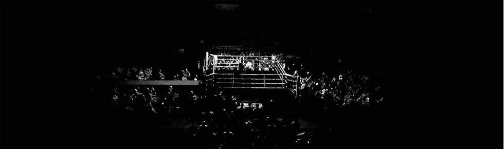 Boxeo profesional en Bilbao: el ring del pabellón de La Casilla
