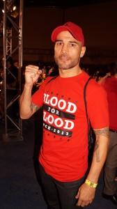 Sergio Blanco, el pasado 2 de octubre. Un gran boxeador.