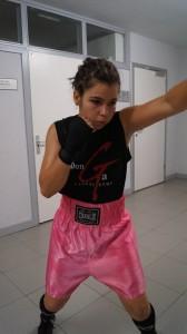 La boxeadora gasteiztarra Alazne Fenoy.