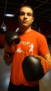 El boxeador bermeano Andoni Domínguez.
