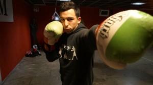 El boxeador getxoztarra Jon Núñez.