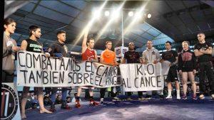 Momento de la presentación de los deportistas en Mendizorroza el pasado 16 de abril