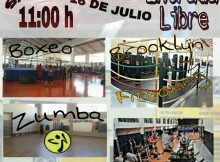 Cartel del intergym de boxeo celebrado en Gimnasio Gasteiz Sport