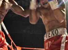 Boxeo Ordizia Gipuzkoa, el combate entre Nacho Mendoza y Juan Ocura fue una batalla.