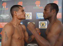 Boxeo en Ordizia (Gipuzkoa), Mendoza y Ocura dieron el peso sin problemas