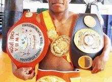 El boxeador Nacho Mendoza viene de ganar por KOT en Gasteiz y tiene la mirada puesta en la disputa de un nuevo título que sumar a su panopplia de cinturones.