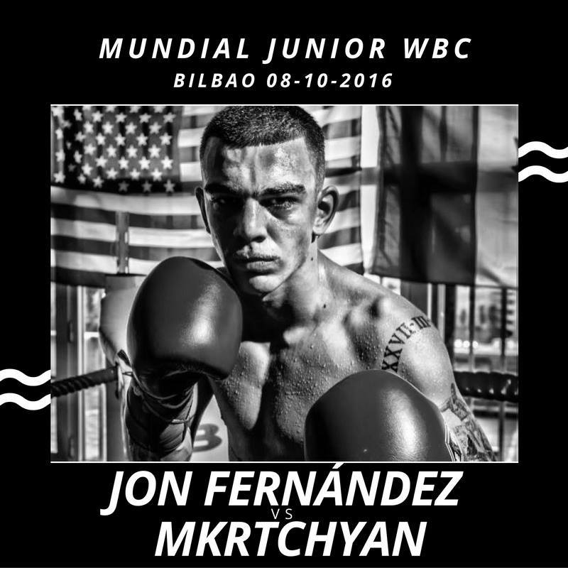 Boxeo Bilbao Mundial Junior WBC : Jon Fernández vs Mkrtchyan