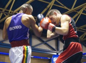 Combate de boxeo del torneo spanishlegends