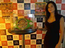 El cinturón de Campeón del Mundo WBC Junior que se disputará en La Casilla (Bilbao) el próximo 8 de octubre entre el local Jon Fernández y el excelente boxeador armenio Mikael Mkrtchyan se expone el Casino de Bilbao