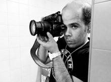 El fotógrafo de boxeo Abraham Domínguez