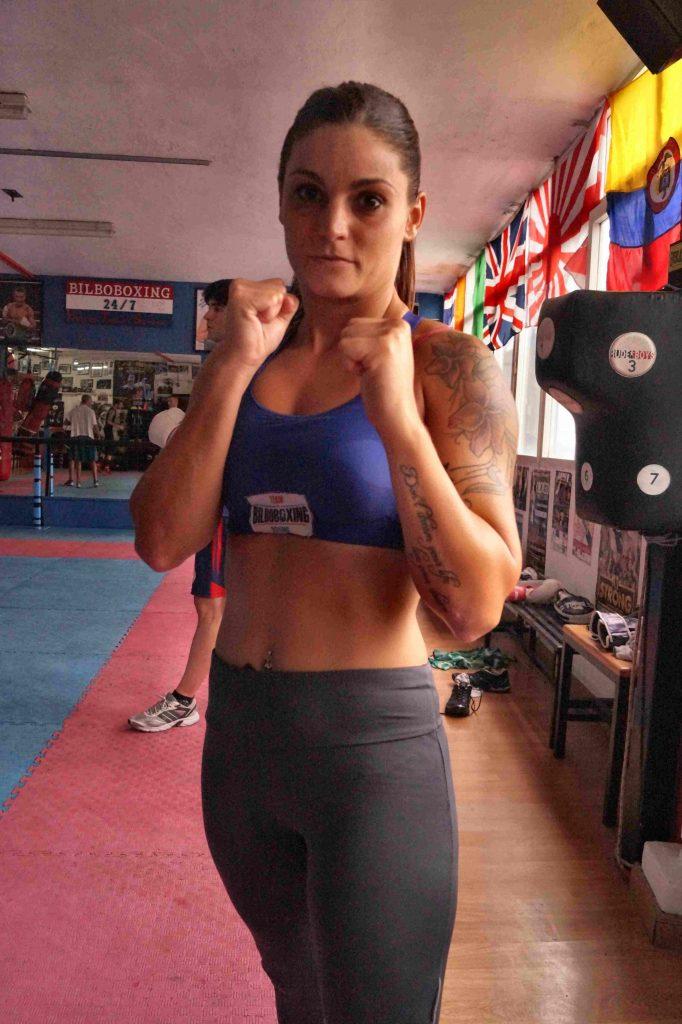 La boxeadora Jessica Brunet