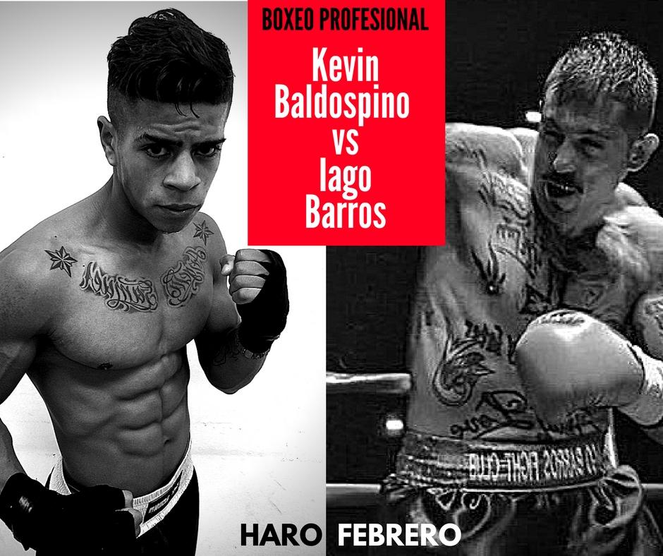 Cartel boxeo rpofesional Kevin Baldospino Haro