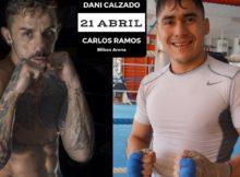 Los boxeadores Daniel Calzado y Carlos Ramos