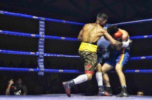 Kevin Baldospino ganó por KO a Enmanuel Seboiu