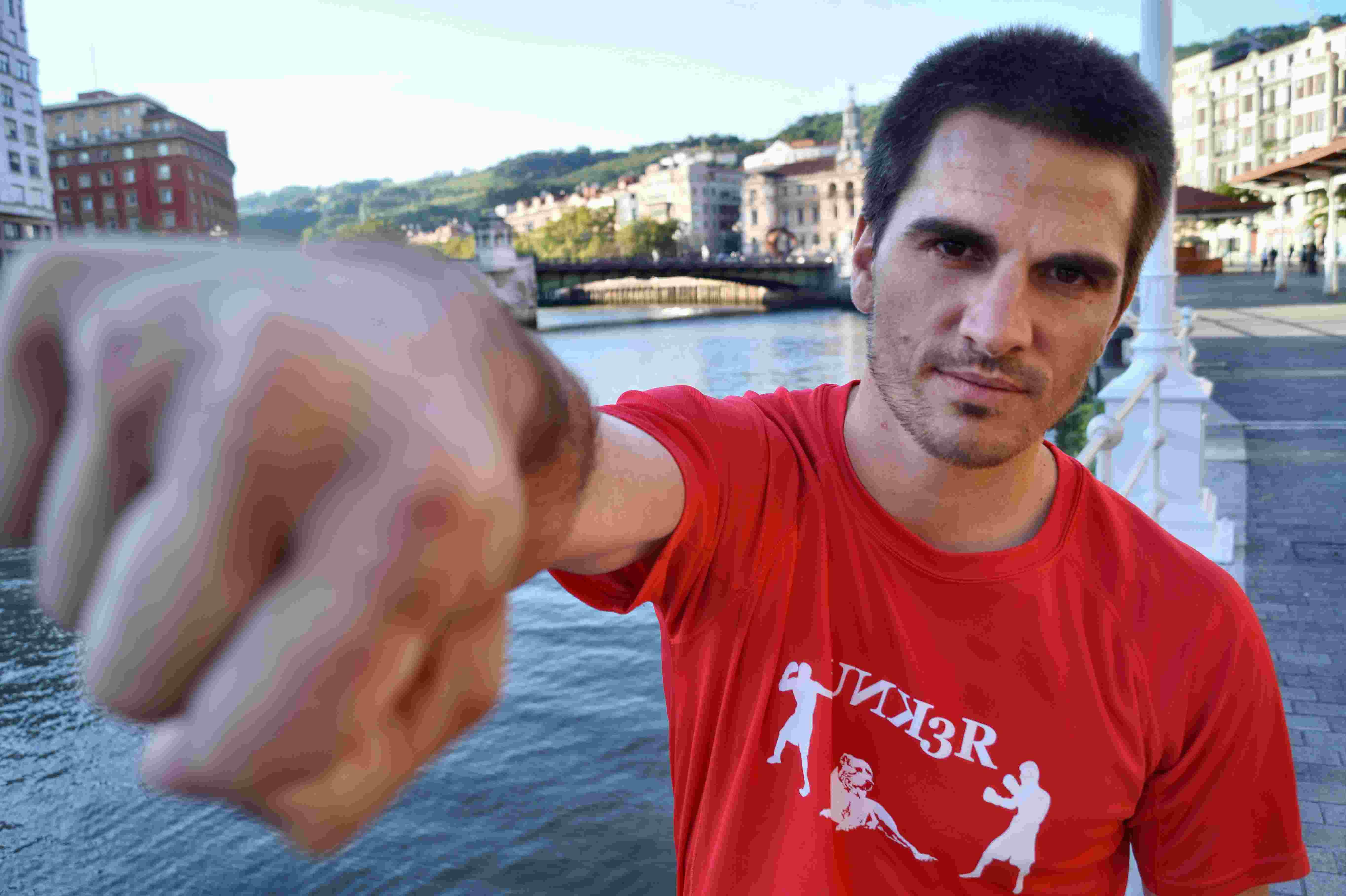 El entrenador de boxeo bilbaino Kepa Sabin