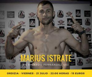 El boxeador profesional Marius Istrate