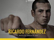 El boxeador profesional Ricardo Fernández
