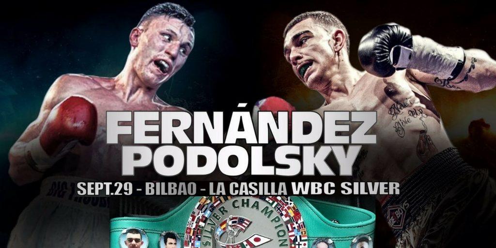 Boxeo WBC Silver Bilbao 29 Septiembre