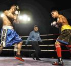 Los boxeadores profesionales Iago Barros y Kevin Baldospino